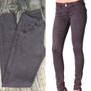 Hudson Collin Skinny Flap Pocket Jeans 28